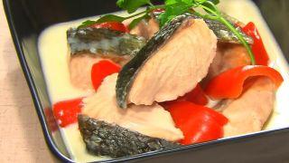 【金スマ】作り置きダイエットレシピ『鮭のクリームチーズ煮』の作り方!