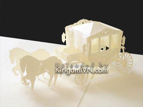 Carriage - Xe ngựa pattern Hiroko 9