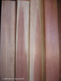 Deck Boards: Redwood Deck Boards