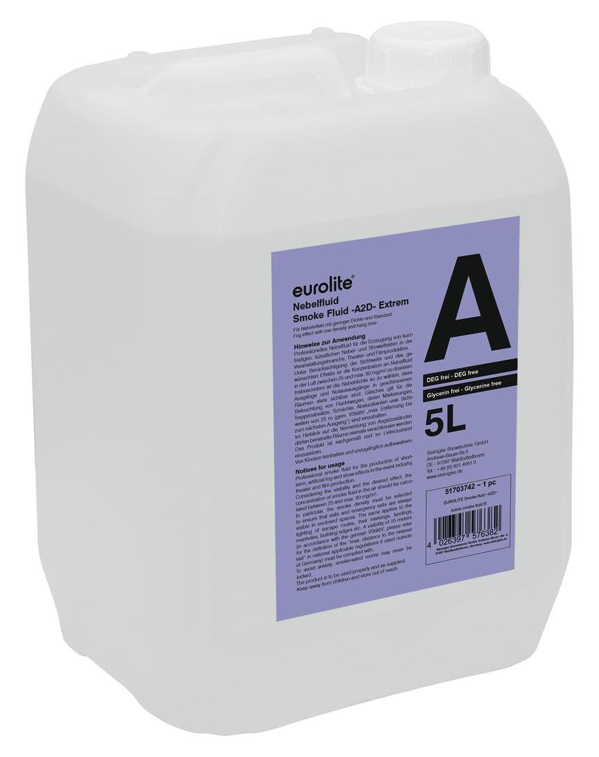 Action Platenspeler Eurolite Smoke Fluid A2d Action Nebelfluid 5l