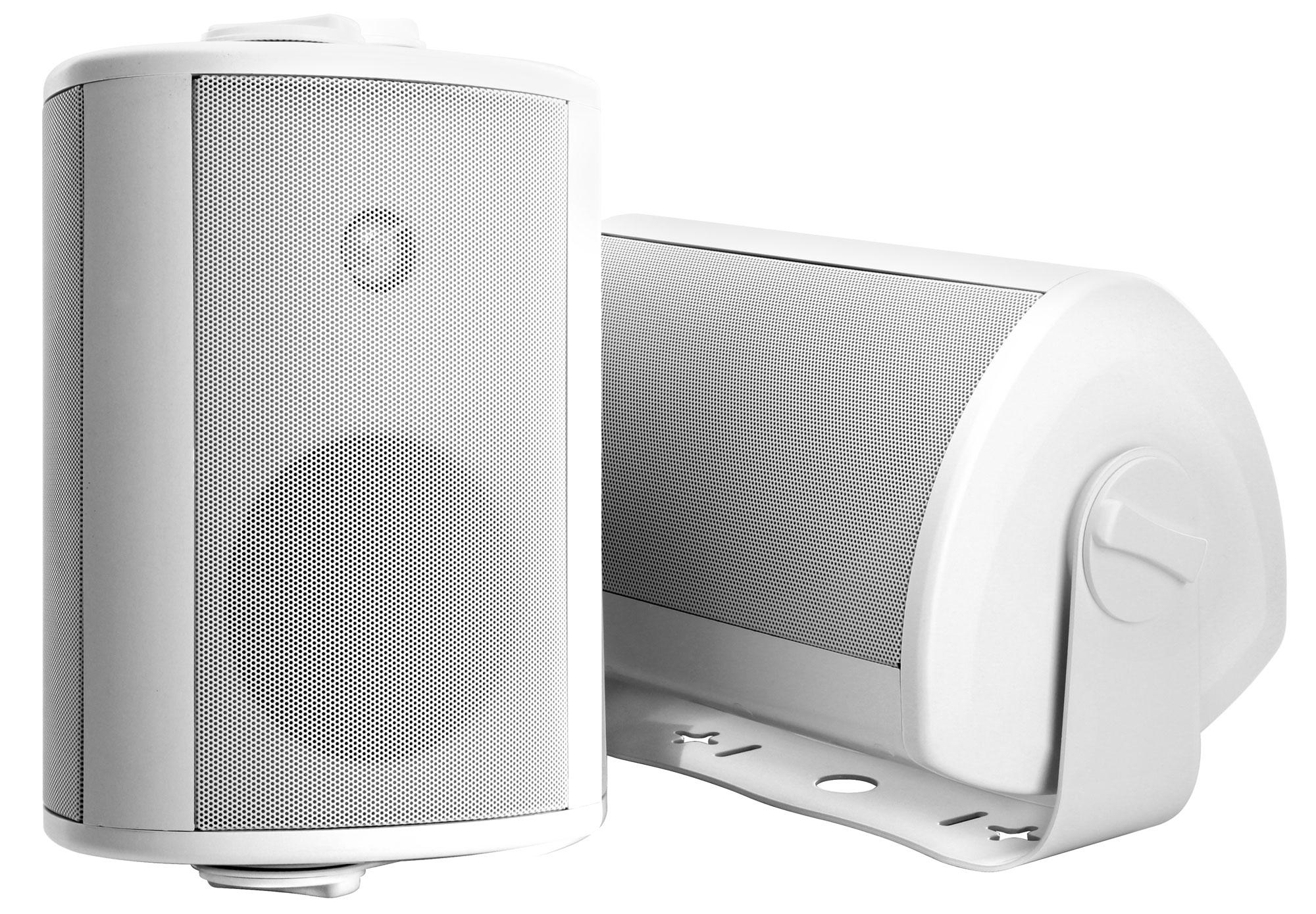 Bluetooth Lautsprecher Outdoor A Pair Of Pronomic Ols 10 Wh White Outdoor Loudspeakers Two At 120 Watts