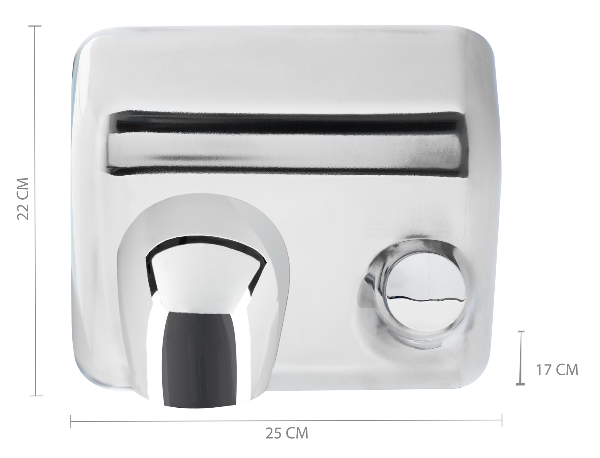 Händetrockner World Dryer Stagecaptain Dryboy Hand Dryer