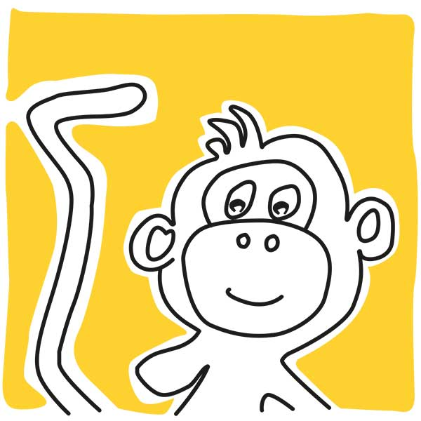 illustratie-babykamer-aap