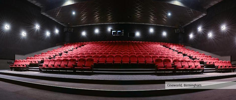 Multiplex Regal Cineworld Seating By Kirwin & Simpson