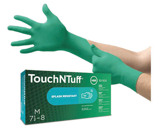 Gant Silicone Gloves Touch N Tuff - Ansell Gloves - Health And Safety