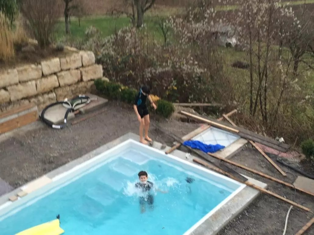 Pool Wärmepumpe Im Winter Baden Im Winter Kissel Stuttgart