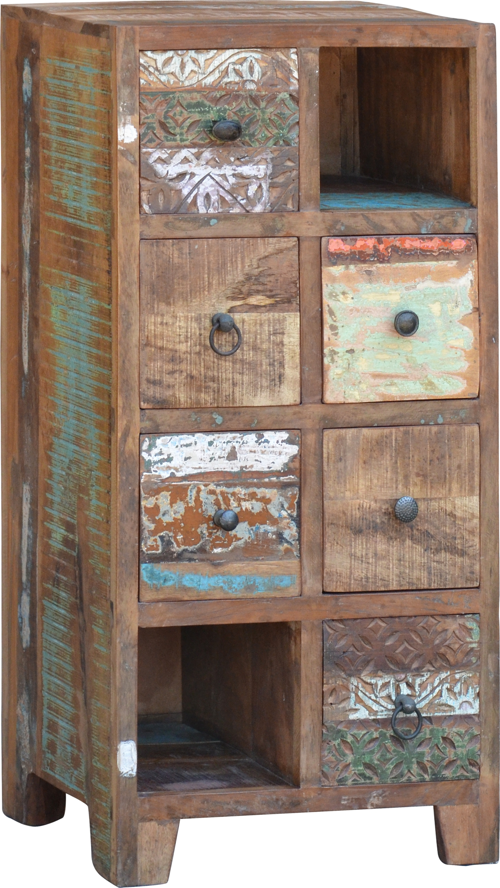 Drawer Cabinet With 6 Drawers In Vintage Design Model 11 100x50x35 Cm