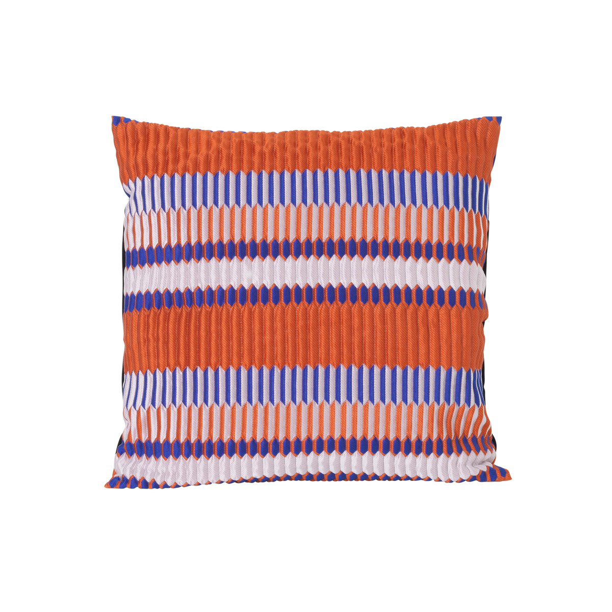 Kopfkissen 40x40 ᐅ Ferm Living Salon Kissen Pleat 40 X 40 Cm Rust Kissenjunkie