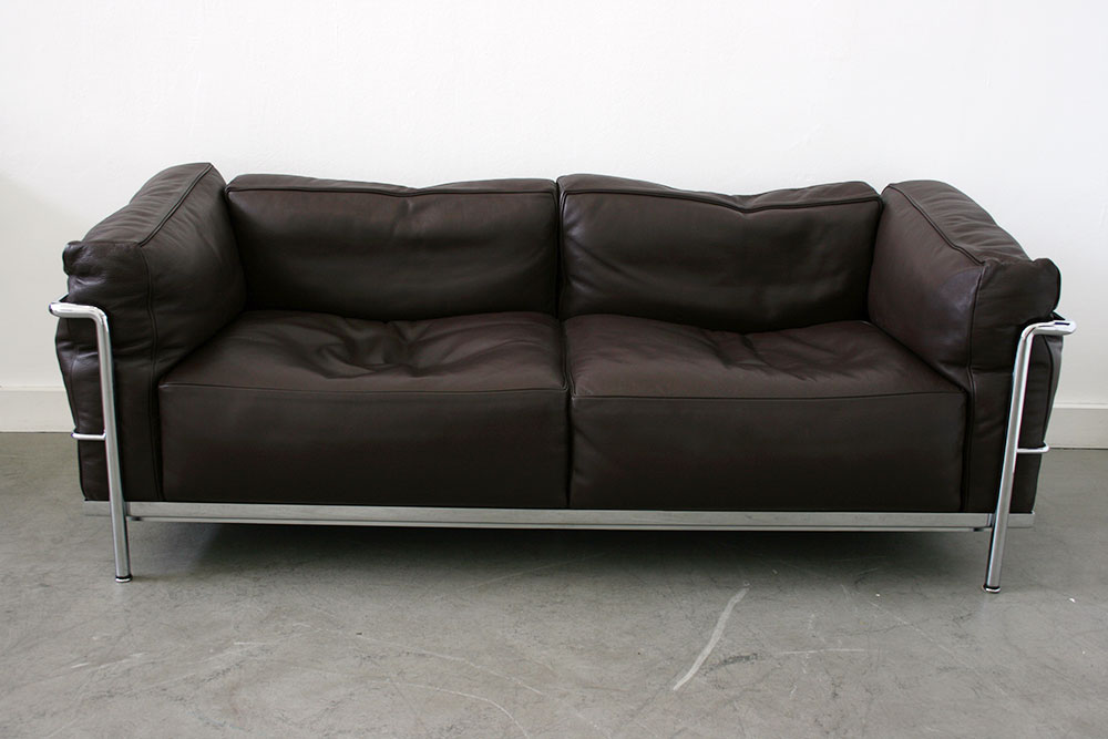Sofa Le Corbusier Lc3 Sofa | Le Corbusier | Cassina | 20th Century Design