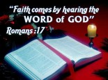 Faith Es By Hearing The Word