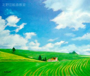 北野田絵画教室 講師の風景画