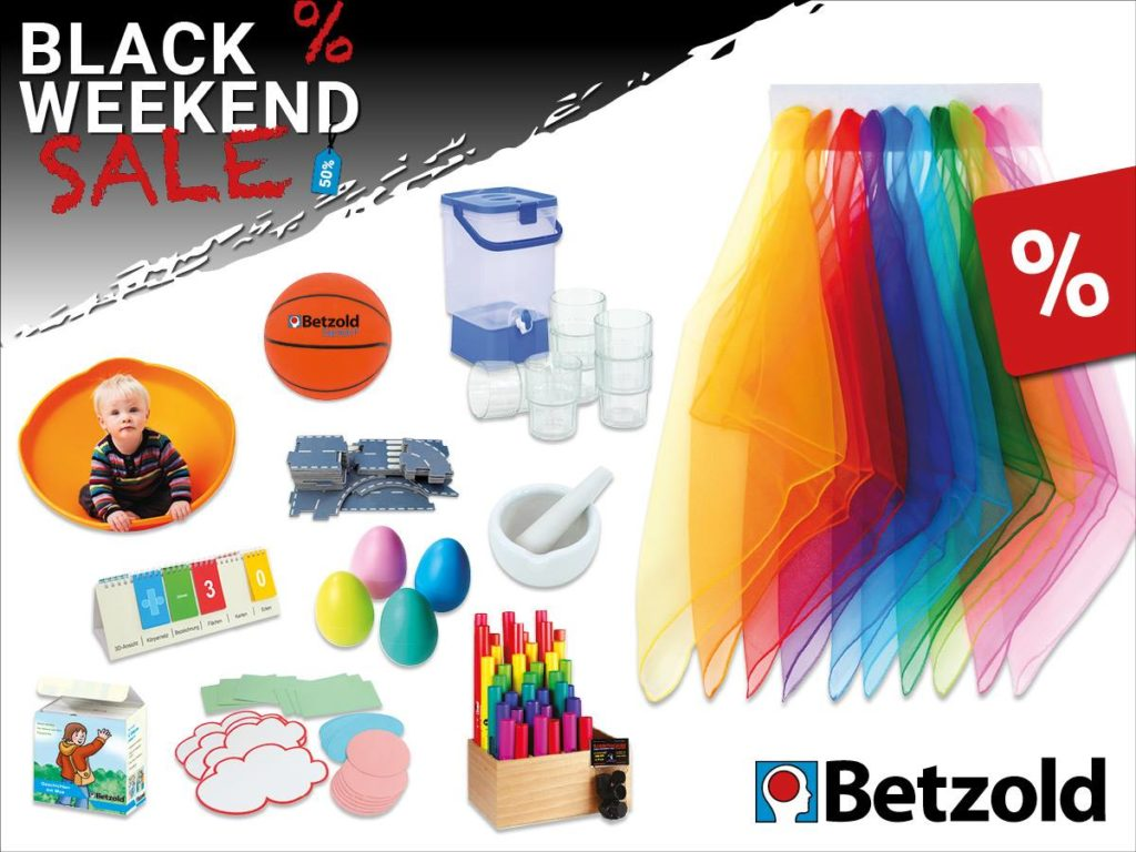 Black Weekend Angebote Bei Betzold Ist Black Weekend Kitatipp