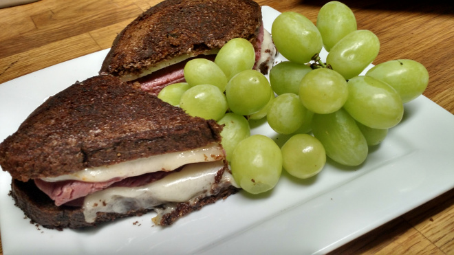 Fast and Easy Reuben Sandwich