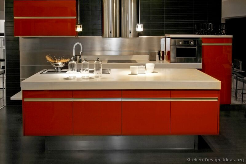 red kitchen backsplashes awesome kitchen backsplash ideas decoholic