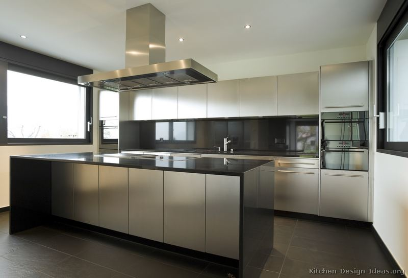 Keuken Kast Bar Contemporary Kitchen Cabinets - Pictures And Design Ideas