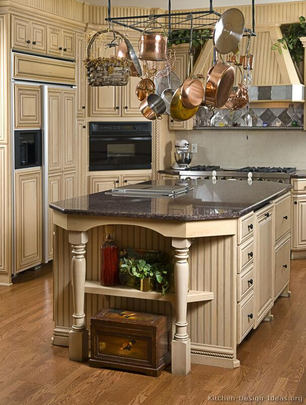 French Provincial Kitchen Island French Country Kitchens - Photo Gallery And Design Ideas