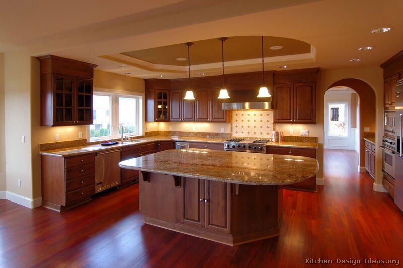pictures kitchens traditional dark wood kitchens cherry color modern kitchen design pictures kitchen wallpaper