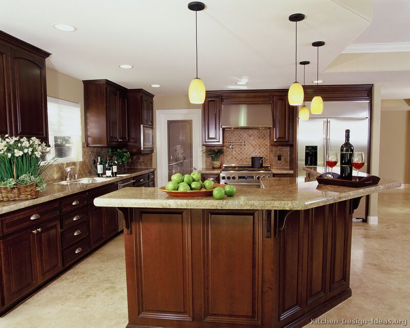 kitchen cherry cabinets large island luxury cherry kitchen kitchen backsplash ideas cherry cabinets cherry kitchen cabinets