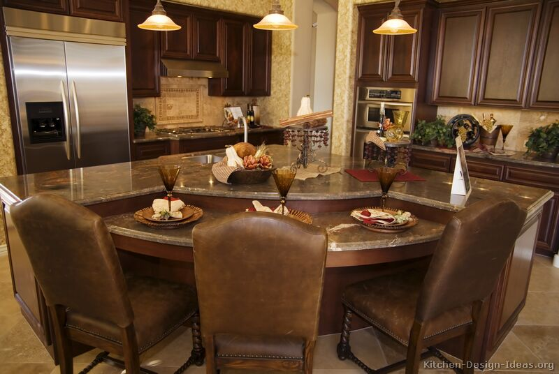 pictures kitchens traditional dark wood kitchens walnut color small eat kitchen design photos dark wood cabinets