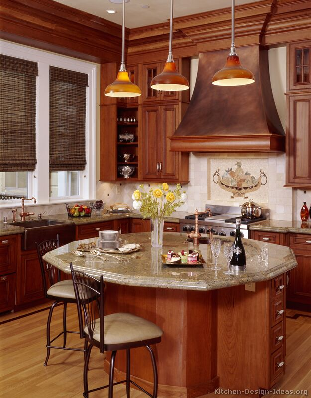 Granite Kitchen Island Pictures Luxury Kitchen Design Ideas And Pictures