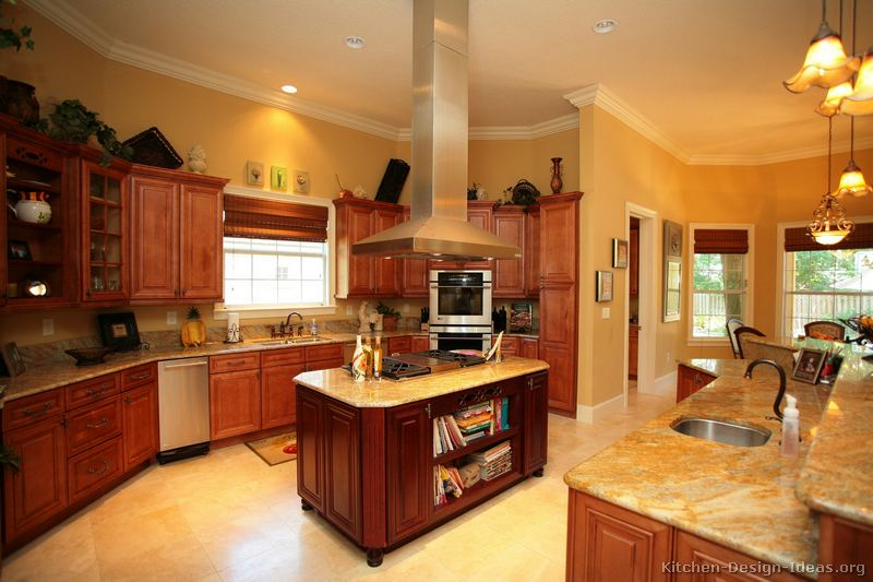 Mission Style Kitchen Cabinets Traditional Light Wood Kitchens Designs Photos Mission Style