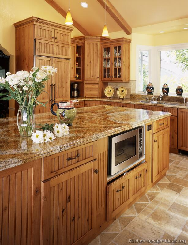 Cherry Rope Kitchen Cabinets Home Design Traditional Kitchen Cabinets Kitchen Interior Design
