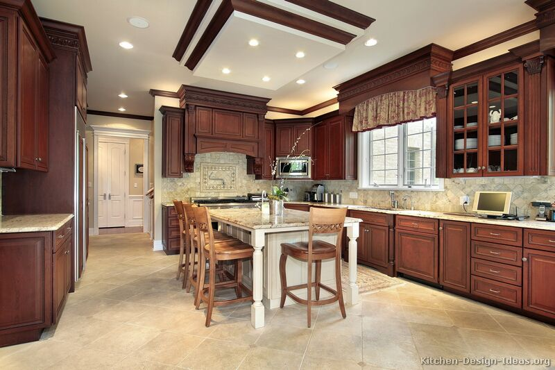 Tuscan Kitchen Cabinet Handles Traditional Kitchen Cabinets - Photos & Design Ideas