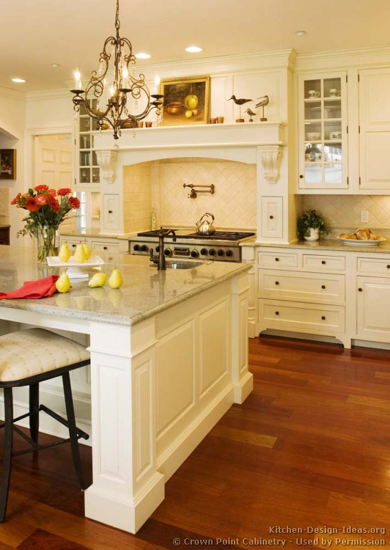 Craftsman Kitchen Island Victorian Kitchens - Cabinets, Design Ideas, And Pictures