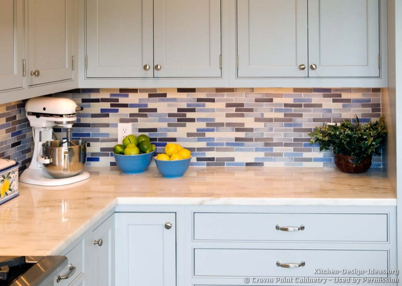 kitchen blue backsplash ideas transitional kitchen design kitchen rich brown cabinetry mosaic tile backsplash hgtv