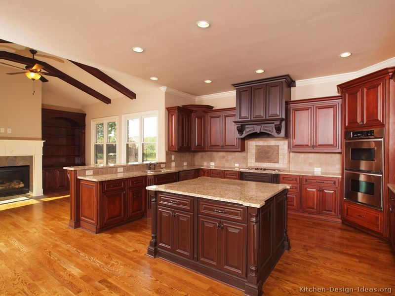 kitchens traditional medium wood kitchens cherry color page kitchen backsplash ideas cherry cabinets cherry kitchen cabinets