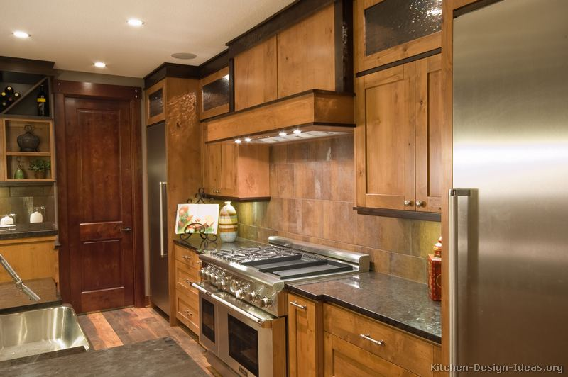 Two Tone Kitchen Cabinets Rustic Kitchen Designs - Pictures And Inspiration