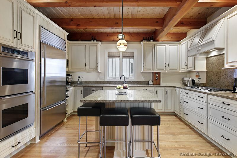 pictures kitchens traditional white kitchen cabinets page white kitchen beams white kitchen beamed ceiling home styles nantucket