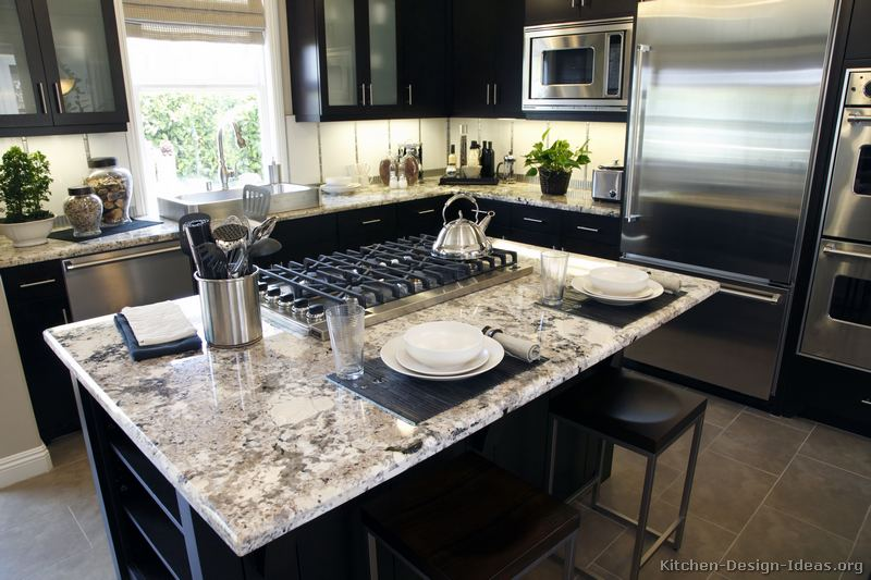 White Cabinets With Dark Granite White Granite Countertop Colors (page 3)