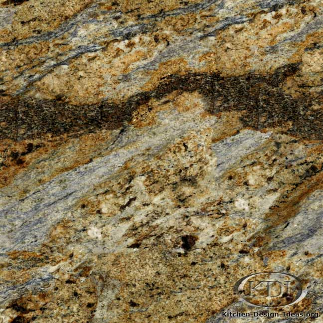 Yellow River Granite Kitchen Countertop Ideas