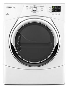 Duet High Efficiency Electric Dryer With Quick Refresh - Whirlpool Steam Dryer