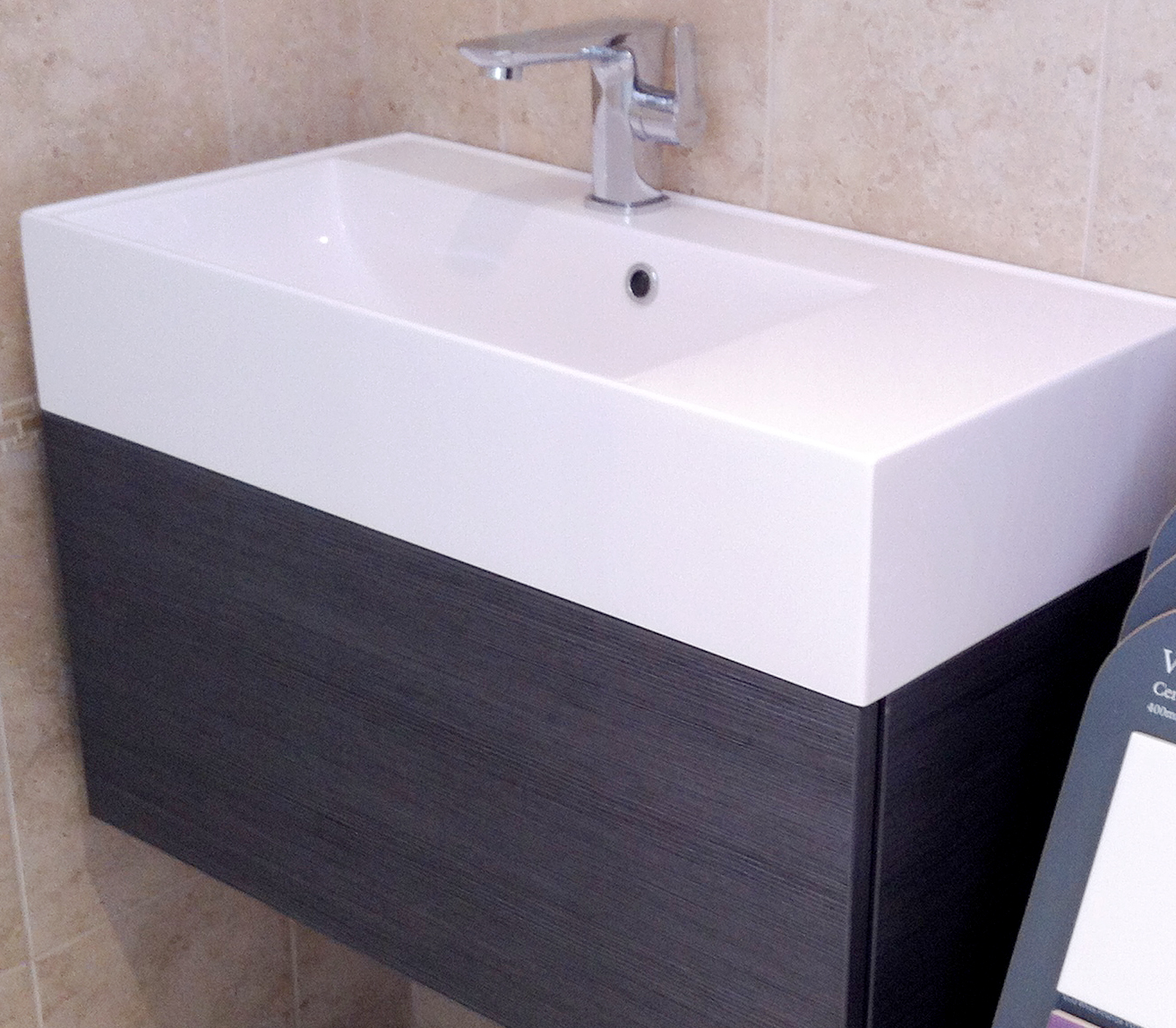 Wc Bauhaus New Bauhaus Elite Basin Unit In Our Showroom Kitchen And