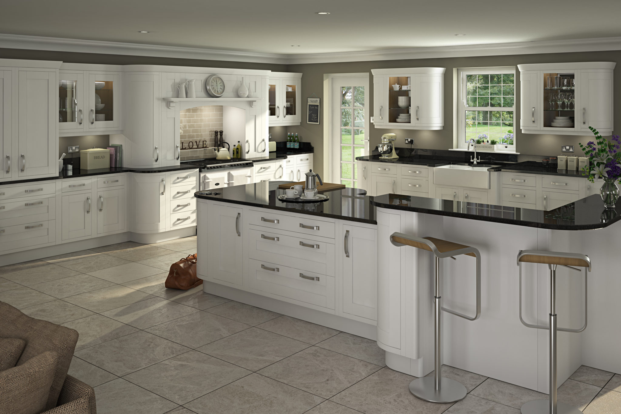 Kitchen Design Uk Images Traditional In Frame Kitchen Design Painted Kitchens Think