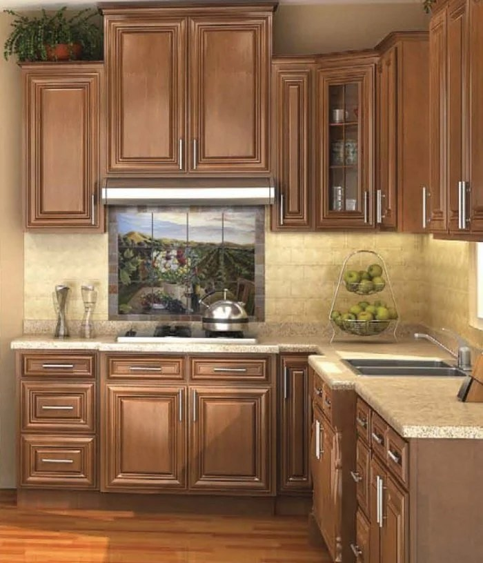 Dark Walnut Distressed Kitchen Cabinet Images Ready To Assemble Kitchen Cabinets Sale