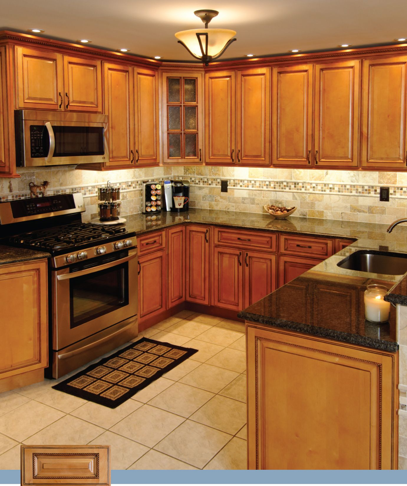 Lights For Kitchen Cabinets Images Of Maple Cabinet Kitchens Best Home Decoration
