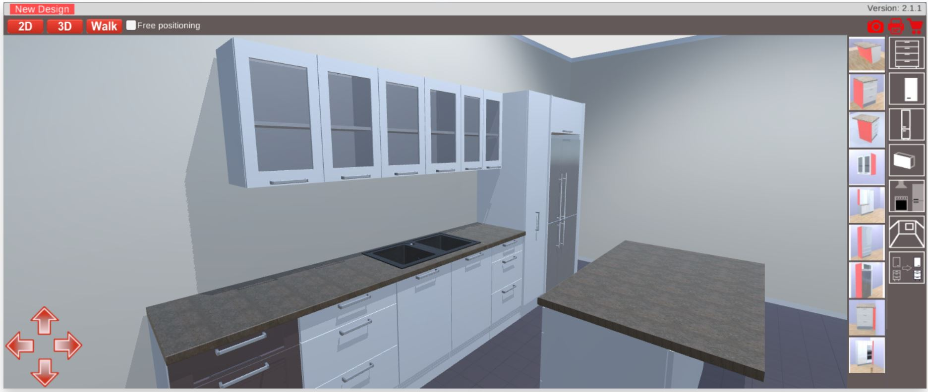 Free 3d Kitchen Cabinet Design Software Free 3d Kitchen Planner Kitchen Cabinets And Stones