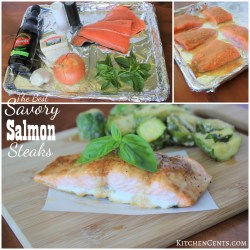 Sweet Savory Salmon Savory Salmon Steaks Salmon Steak Recipe Lemon Salmon Steak Recipe Fried