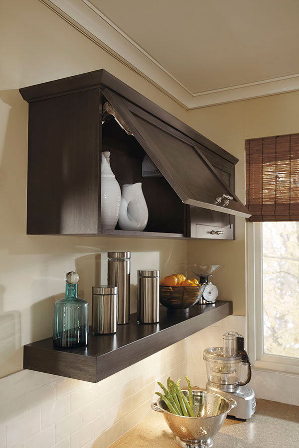 Craft Room Wall Lift Up Cabinet - Kitchen Craft Cabinetry