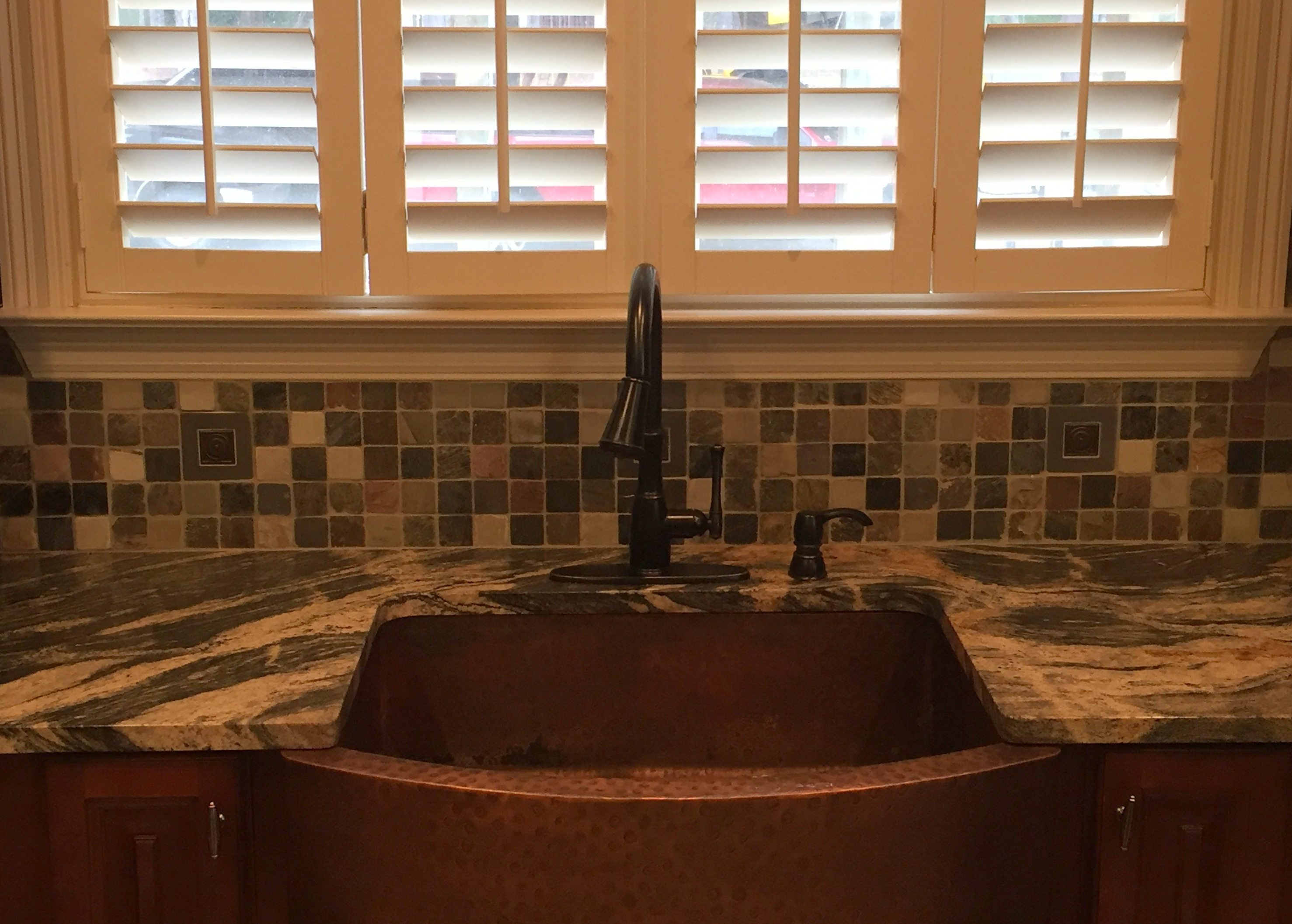 Copper Canyon Granite Countertops Quartz And Granite Surfacing Kitchen Countertops In Blue