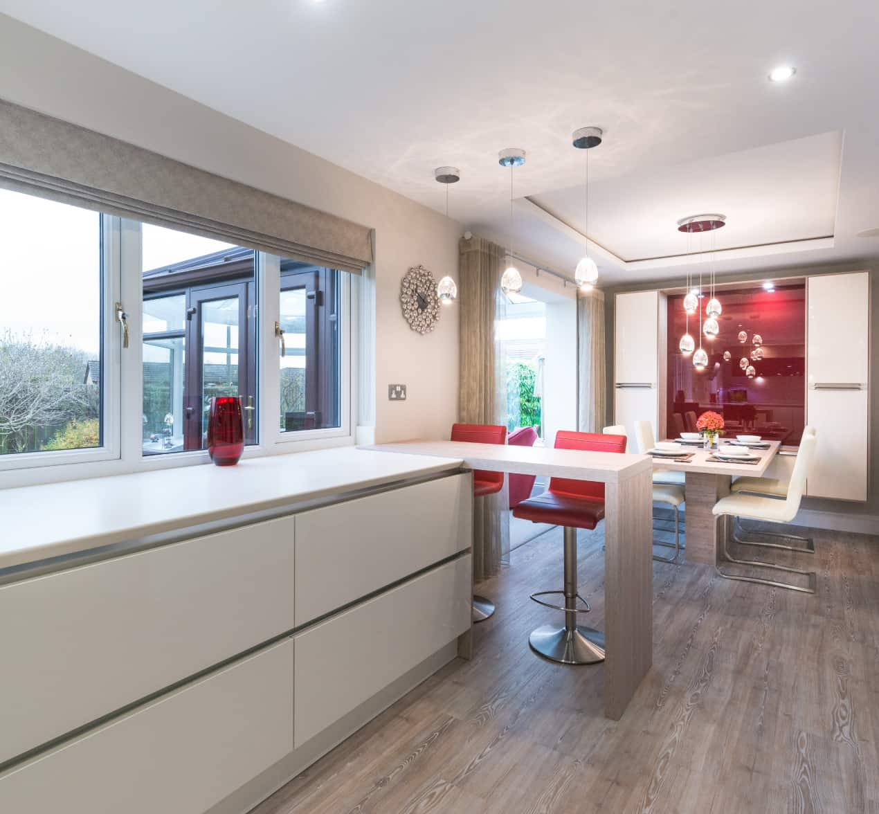 Kitchen Design Open Plan Modern German Designer Open Plan Kitchen Barrowford Case Study