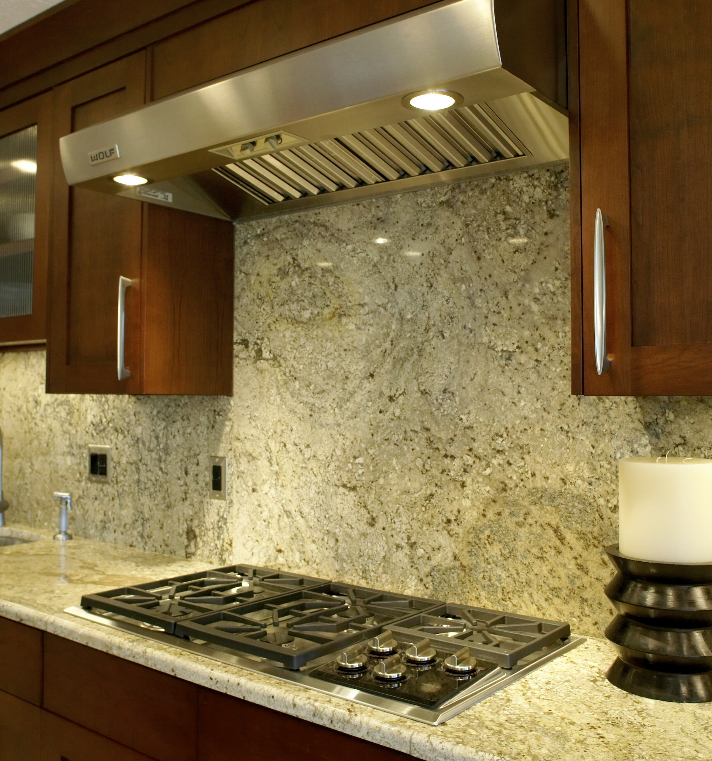 Countertops And Backsplash Combinations Home And Insurance Full Granite Backsplash
