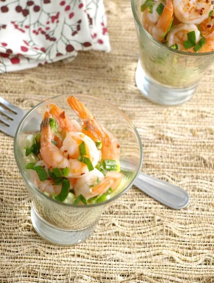 Zesty Marinated Shrimp
