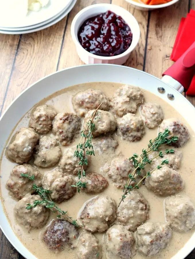 Noregian Kjøttkaker Meatballs