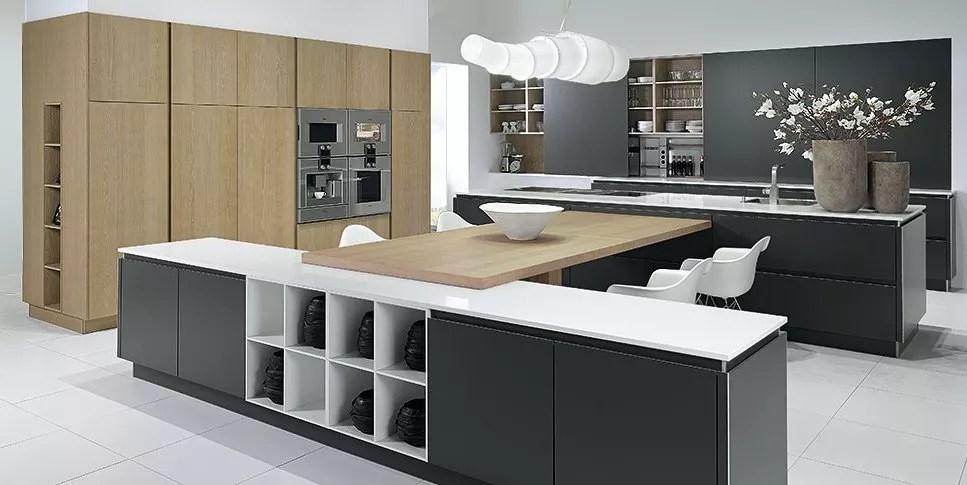 designer kitchen charcoal oak designing kitchen kitchen decor design ideas