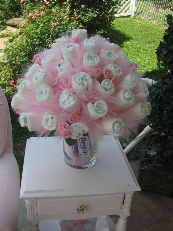 Baby Shower Ideas With Diapers