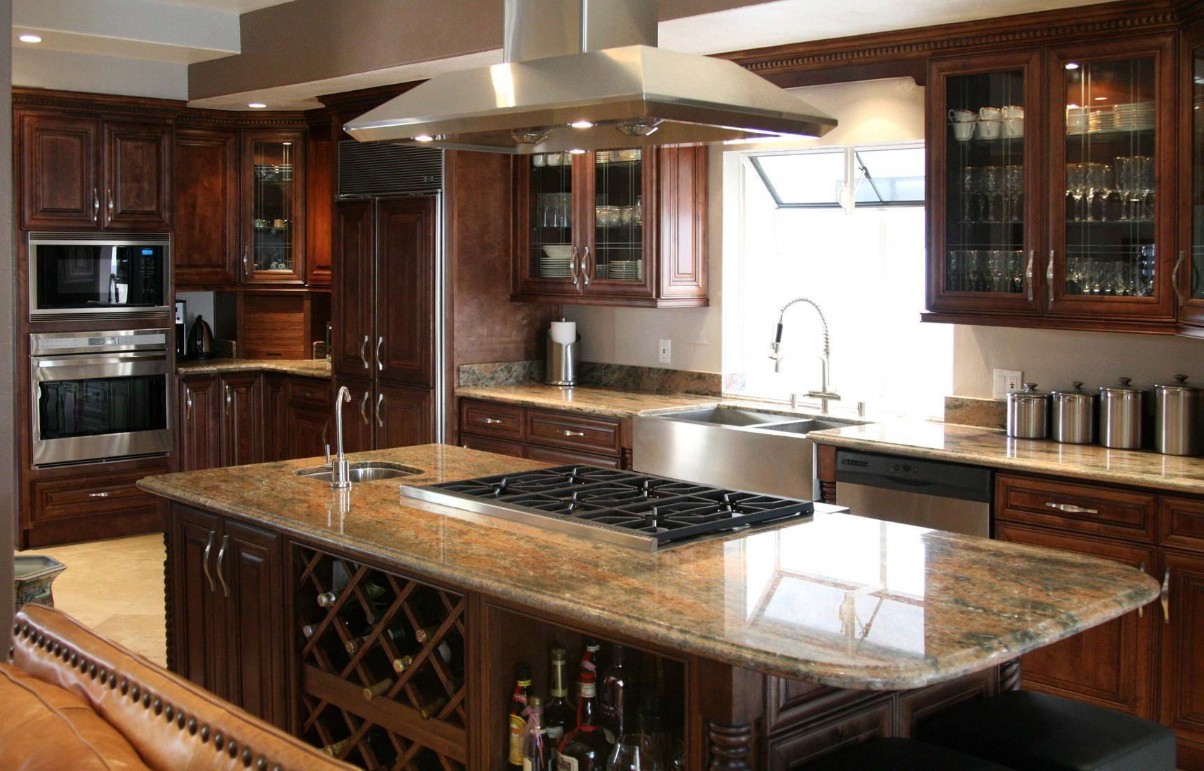 Cabinets Maple maple kitchen cabinets Chocolate Maple Glaze Contemporary Kitchen